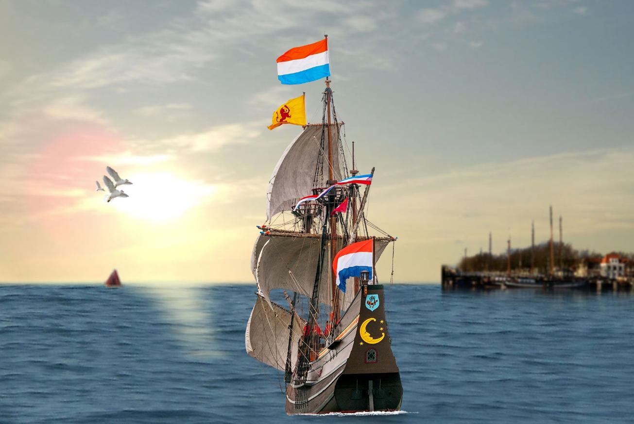 VOC jacht de Halve Maen in Hoorn